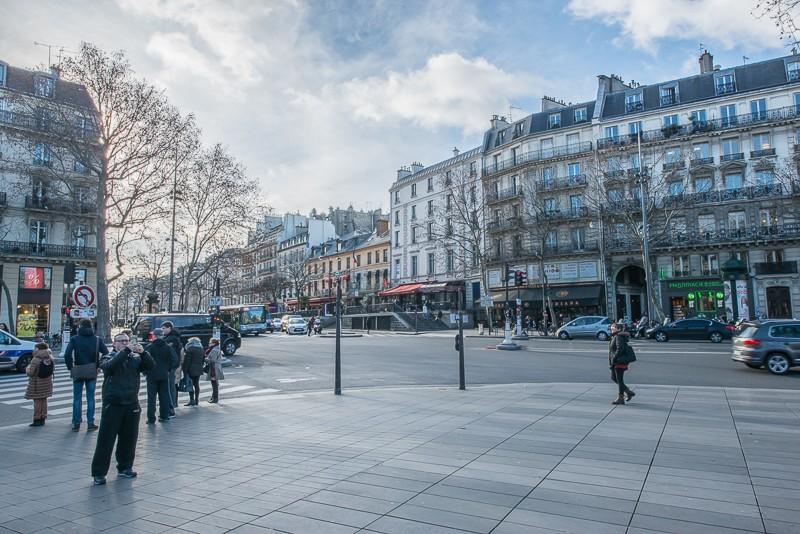 Amorce du boulevard du Temple et passage Vendôme