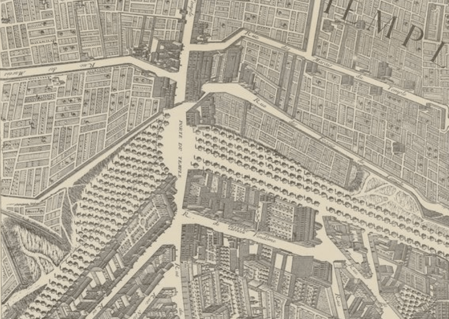 (Extrait) Plan de la Ville de Paris