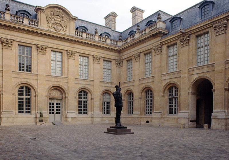 Cour intérieure de l'Hôtel Saint-Aignan