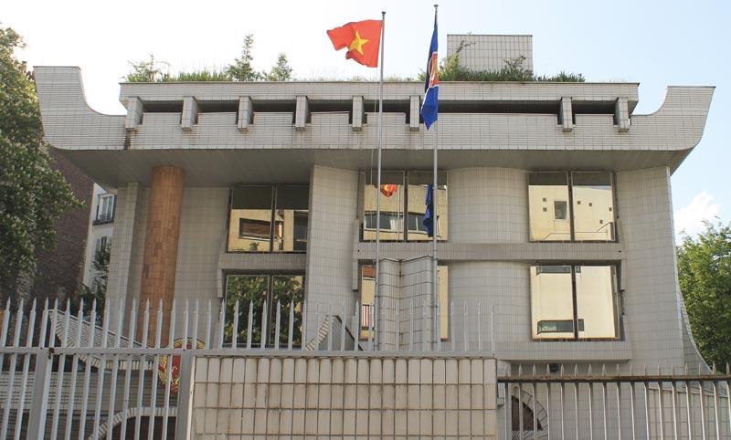 Ambassade du Vietnam.