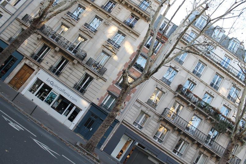 Façade d'immeuble au 7 bis Boulevard Saint-Germain