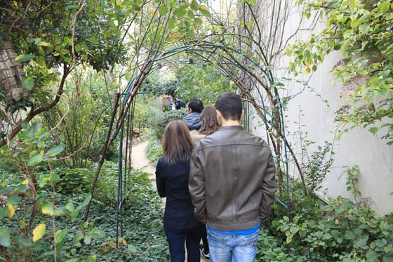 Chemin du jardin des soupirs