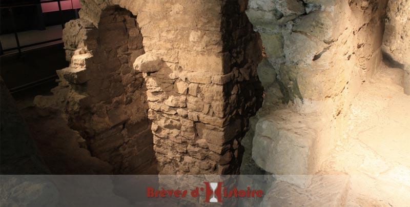 Fondations d'une maison médiévale