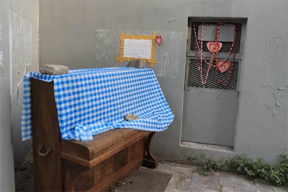 Un piano au 9 rue de la Mare