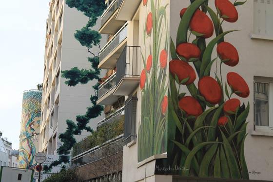 Street-art rue du retrait