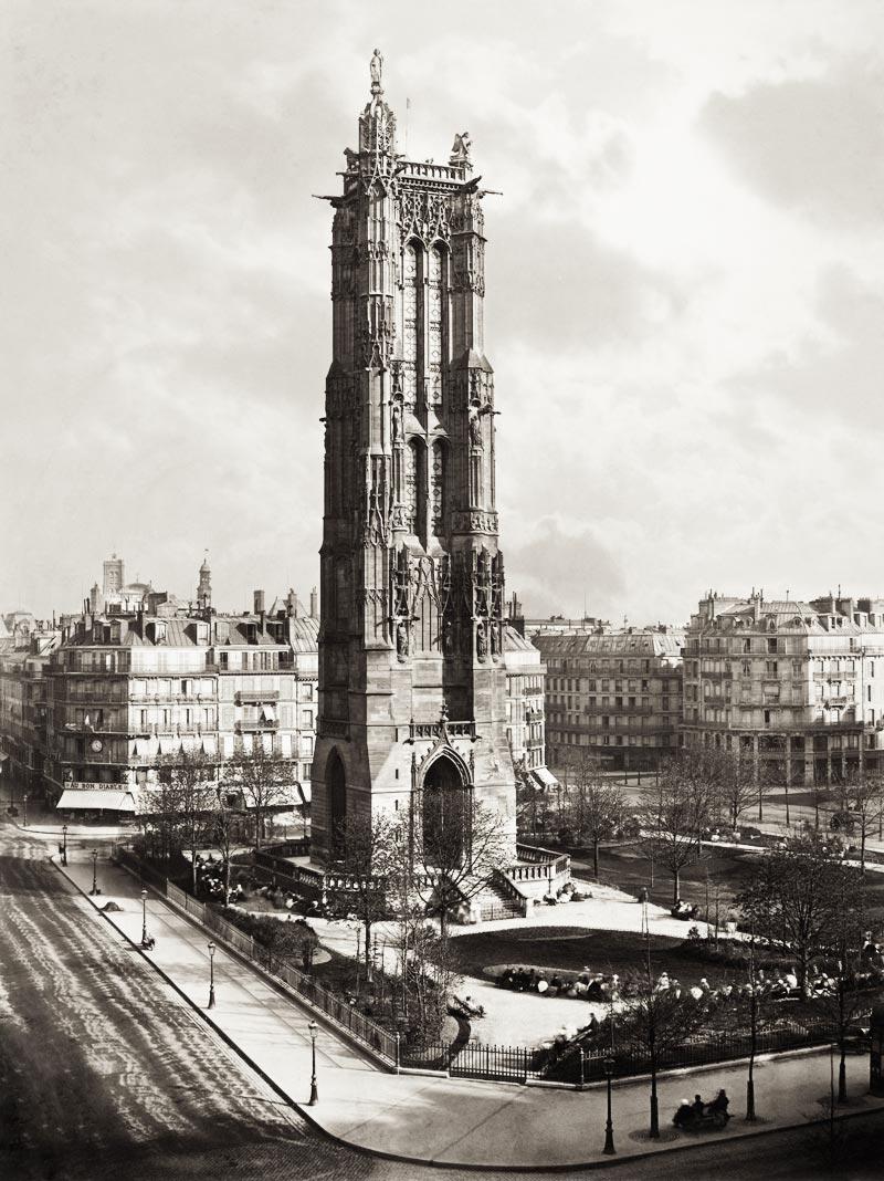 La Tour Saint-Jacques en 1867